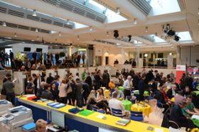 Das Wahlzentrum an der Kantonsschule Frauenfeld ist öffentlich zugänglich und bietet Wahlresultate aus erster Hand.