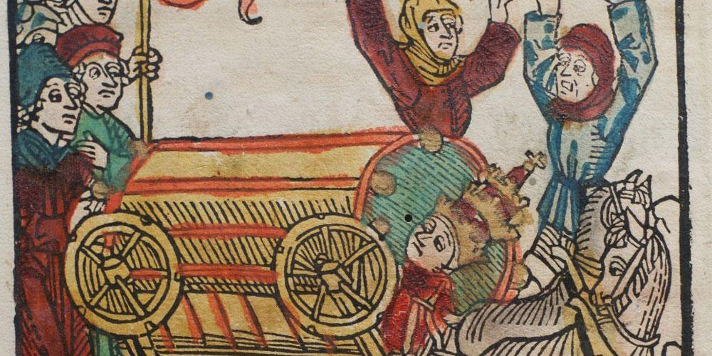Mittelalterliche Bilder enthalten verborgene Botschaften, die auf der ersten Blick kaum zu erkennen sind.