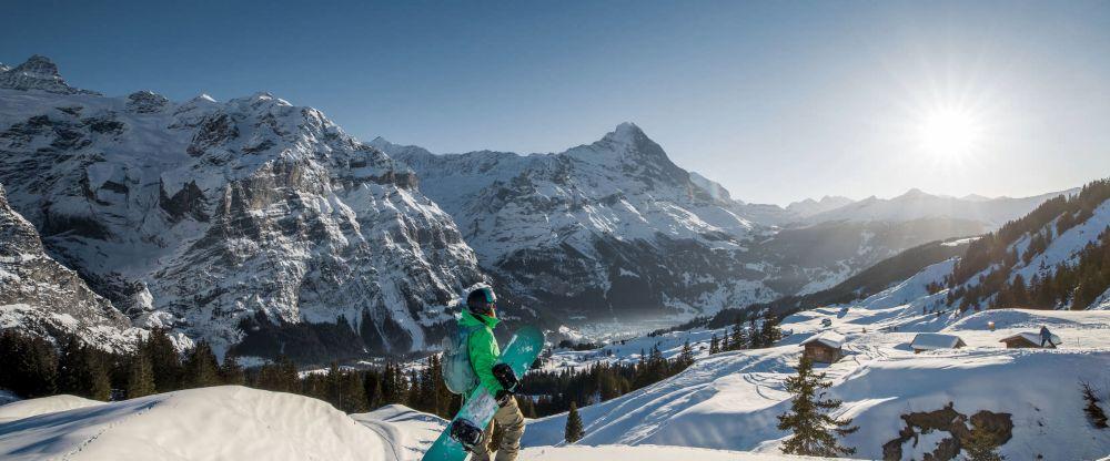 Schneesportspass, auf und neben der Piste (Bild Jungfraubahnen AG)