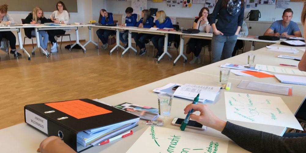 Austausch und Workshop beim letzten Impulsweekend.