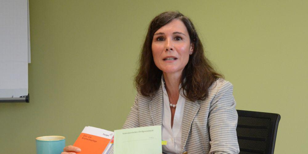 Olivia Trepp leitet seit einem Jahr die KESB des Bezirks Frauenfeld.
