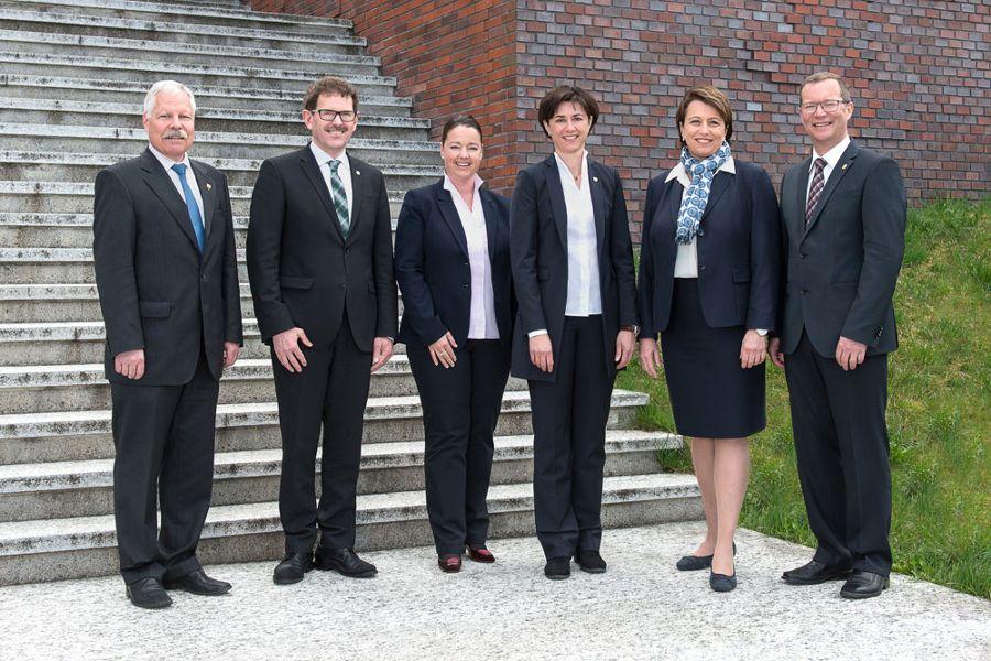 Der Thurgauer Regierungsrat im Amtsjahr 16 / 17